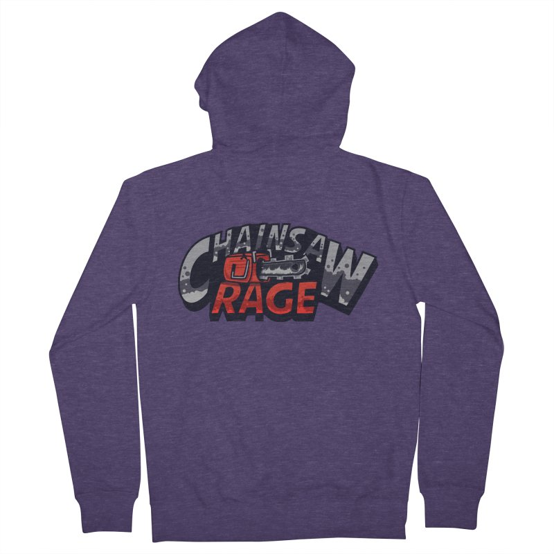 Chainsaw Rage Men's Zip-Up Hoody by mikibo's Shop