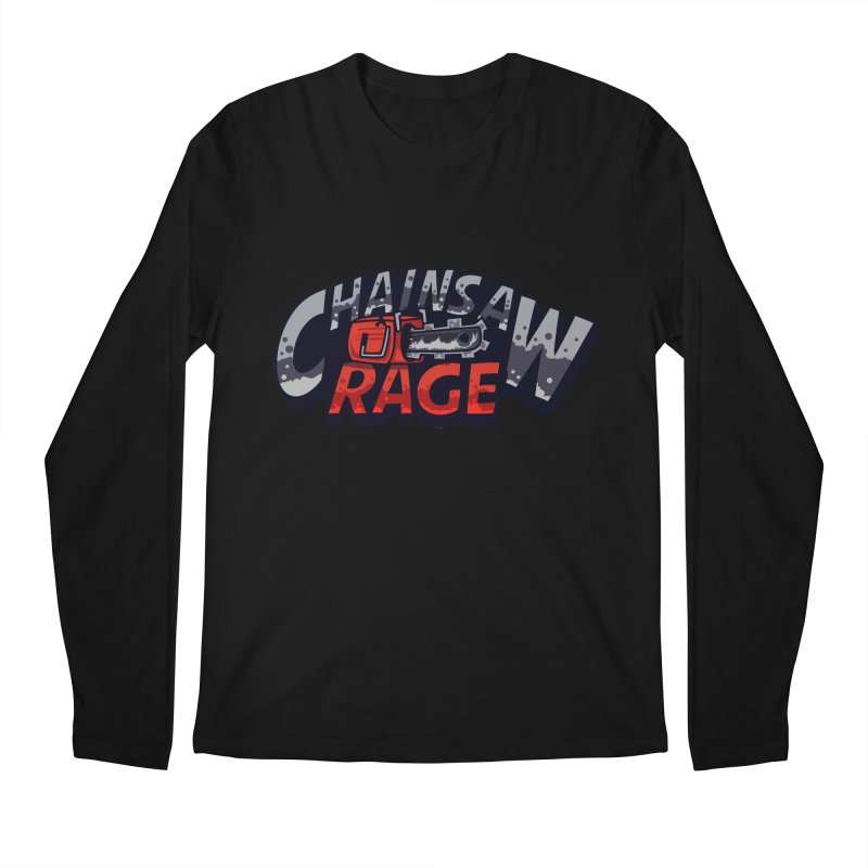 Chainsaw Rage Men's Regular Longsleeve T-Shirt by mikibo's Shop