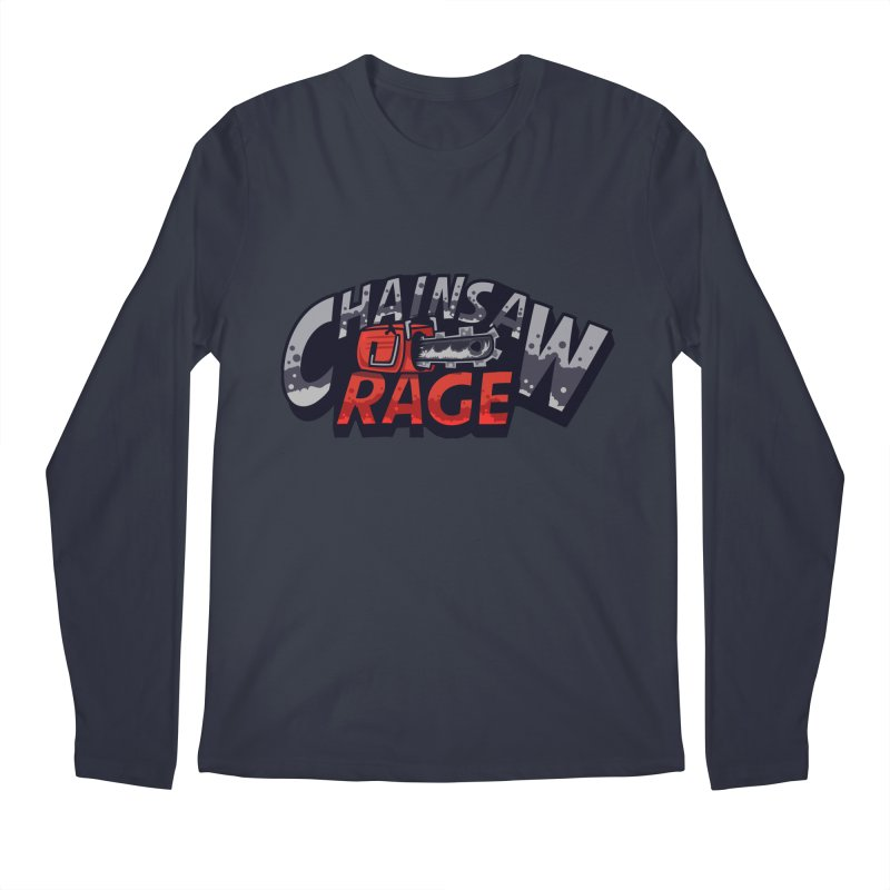 Chainsaw Rage Men's Longsleeve T-Shirt by mikibo's Shop