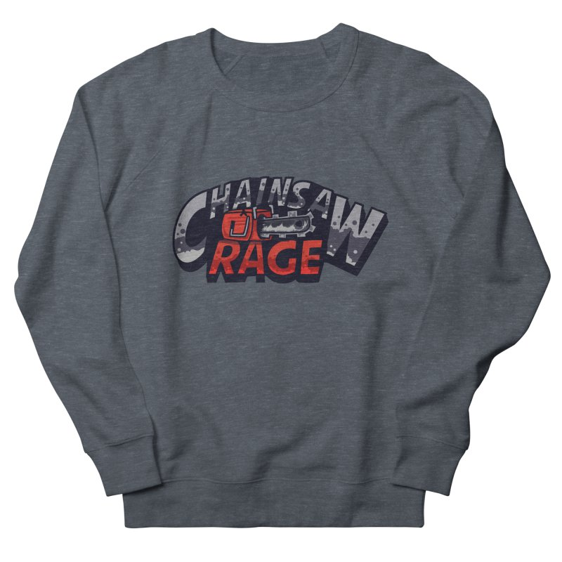 Chainsaw Rage Women's French Terry Sweatshirt by mikibo's Shop