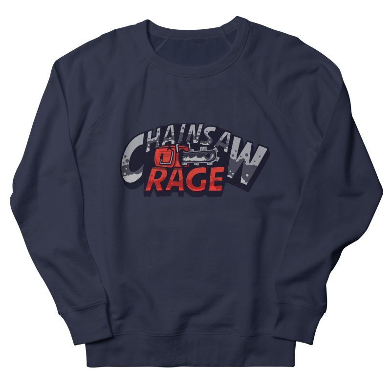 Chainsaw Rage Men's French Terry Sweatshirt by mikibo's Shop