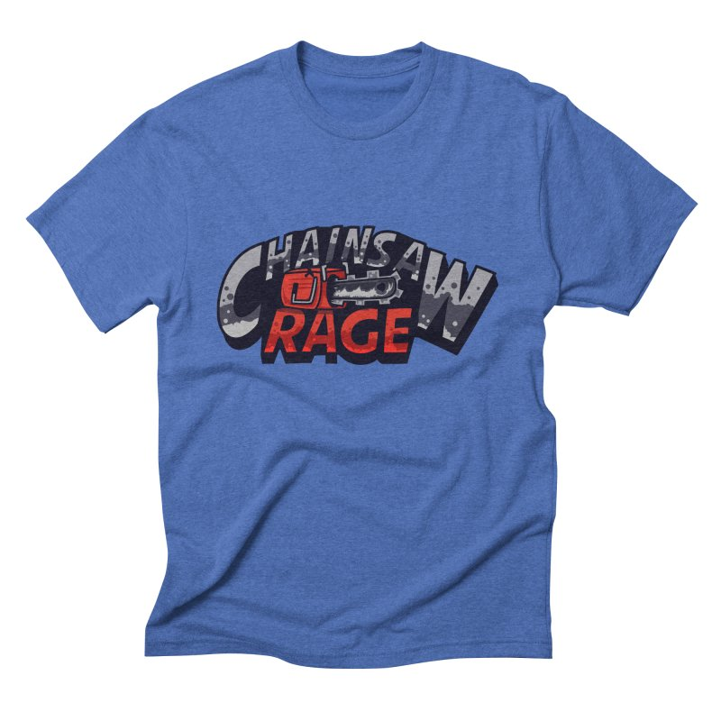 Chainsaw Rage Men's Triblend T-shirt by mikibo's Shop