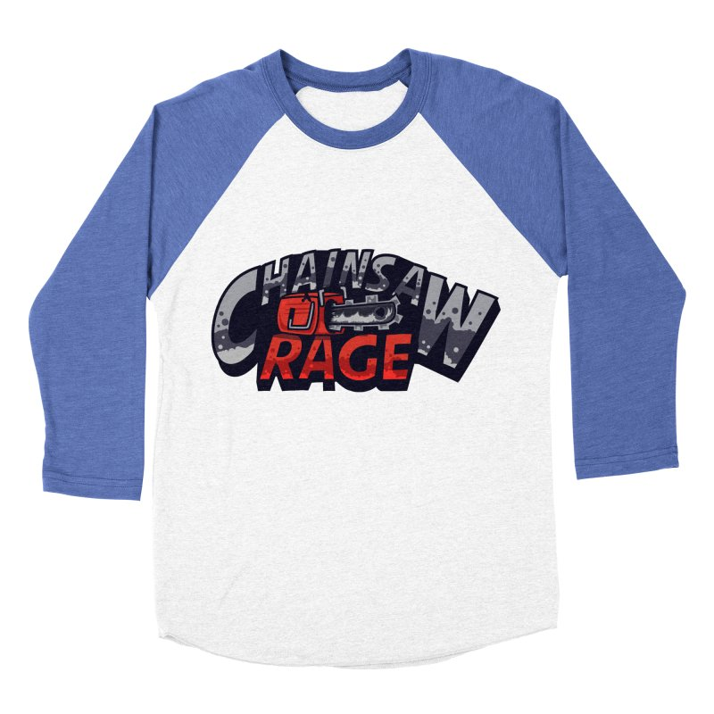 Chainsaw Rage Women's Baseball Triblend T-Shirt by mikibo's Shop