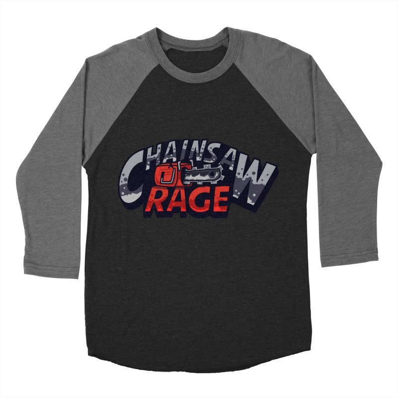 Chainsaw Rage Women's Baseball Triblend Longsleeve T-Shirt by mikibo's Shop