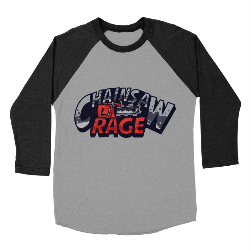 Chainsaw Rage Men's Baseball Triblend Longsleeve T-Shirt by mikibo's Shop