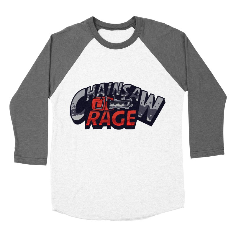 Chainsaw Rage Men's Baseball Triblend T-Shirt by mikibo's Shop