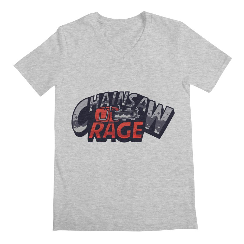 Chainsaw Rage Men's Regular V-Neck by mikibo's Shop