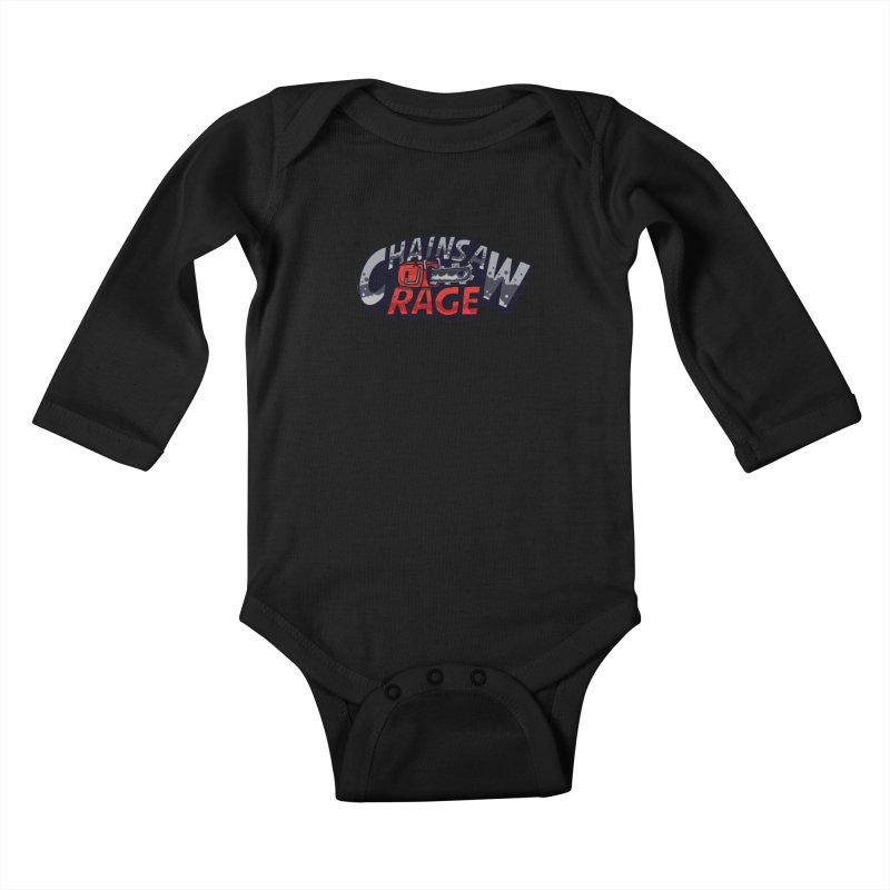 Chainsaw Rage Kids Baby Longsleeve Bodysuit by mikibo's Shop
