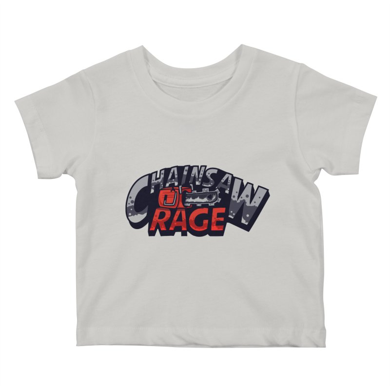 Chainsaw Rage Kids Baby T-Shirt by mikibo's Shop
