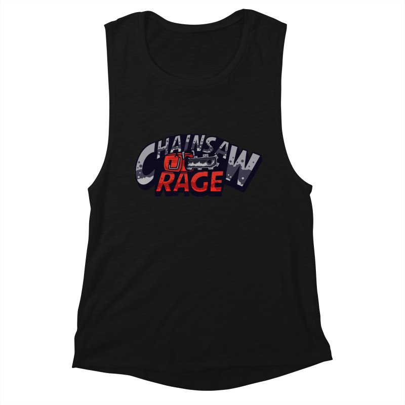 Chainsaw Rage Women's Muscle Tank by mikibo's Shop
