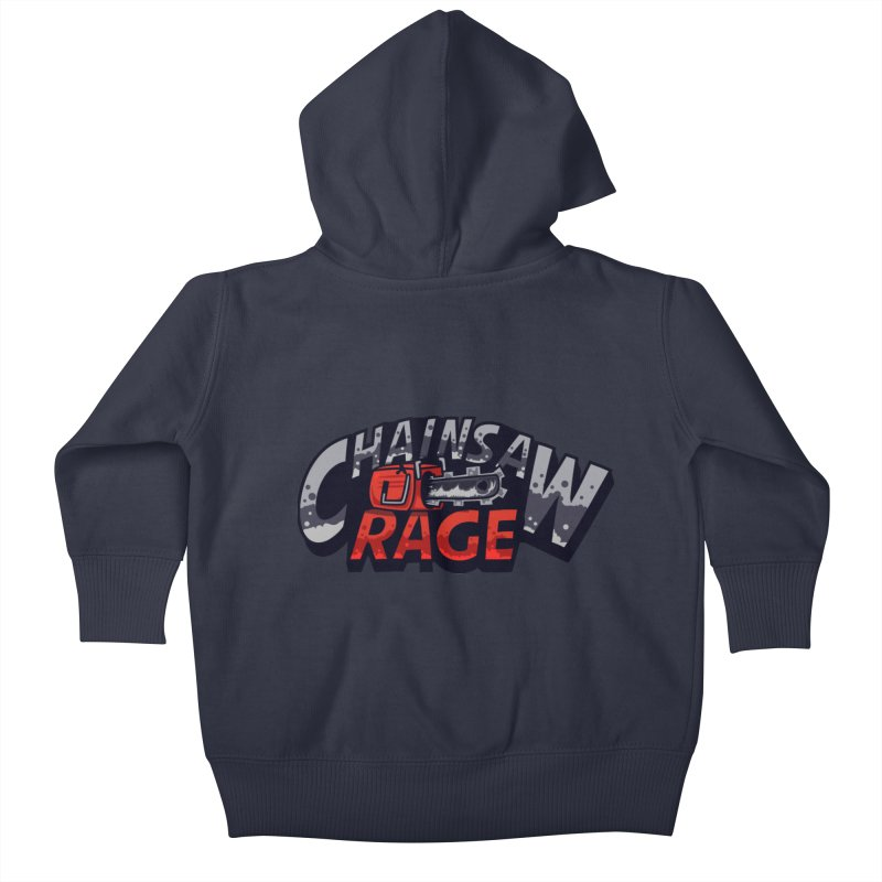 Chainsaw Rage Kids Baby Zip-Up Hoody by mikibo's Shop