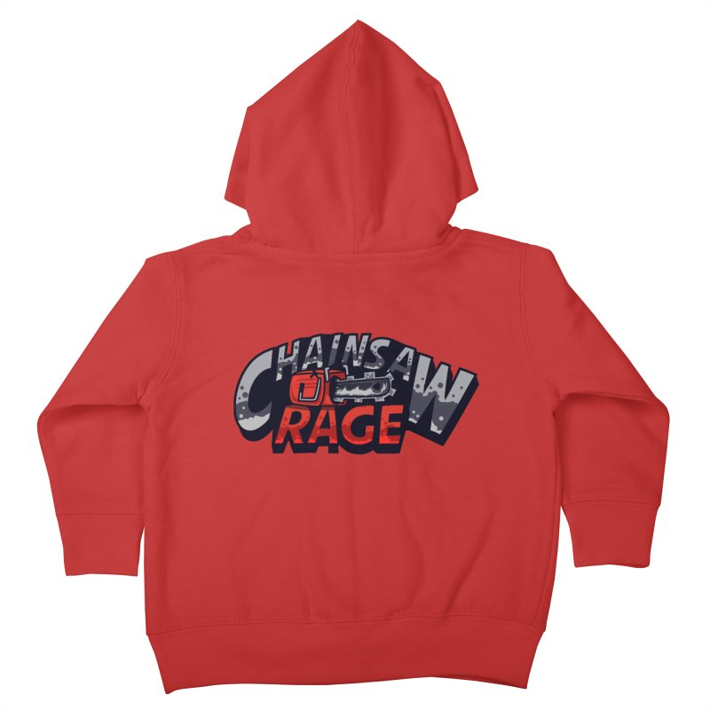 Chainsaw Rage Kids Toddler Zip-Up Hoody by mikibo's Shop