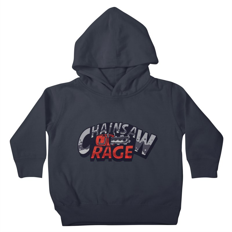 Chainsaw Rage Kids Toddler Pullover Hoody by mikibo's Shop