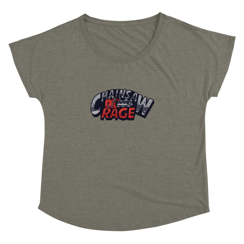 Chainsaw Rage Women's Dolman Scoop Neck by mikibo's Shop
