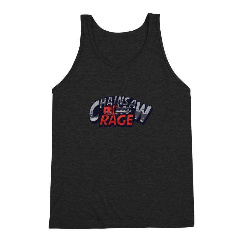 Chainsaw Rage Men's Triblend Tank by mikibo's Shop