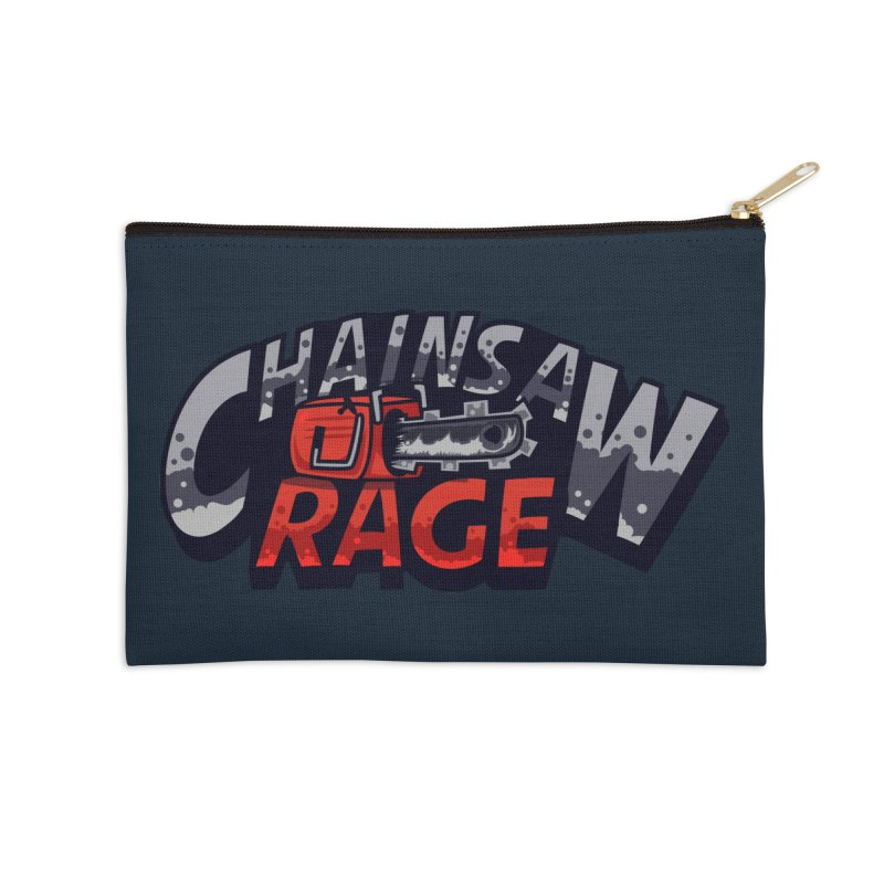 Chainsaw Rage Accessories Zip Pouch by mikibo's Shop