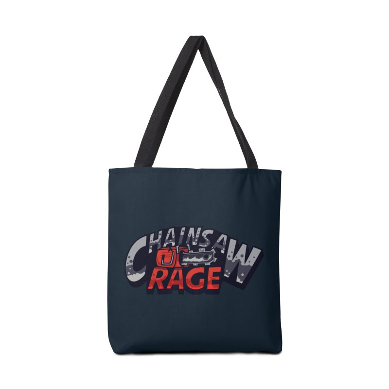 Chainsaw Rage Accessories Tote Bag Bag by mikibo's Shop