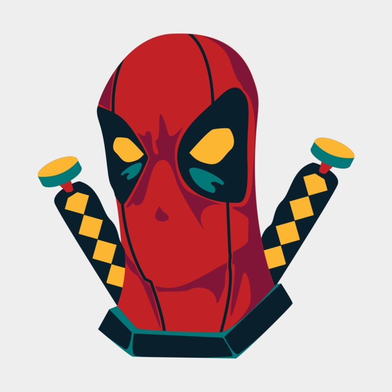 Deadpool Men's T-Shirt by mikibo's Shop