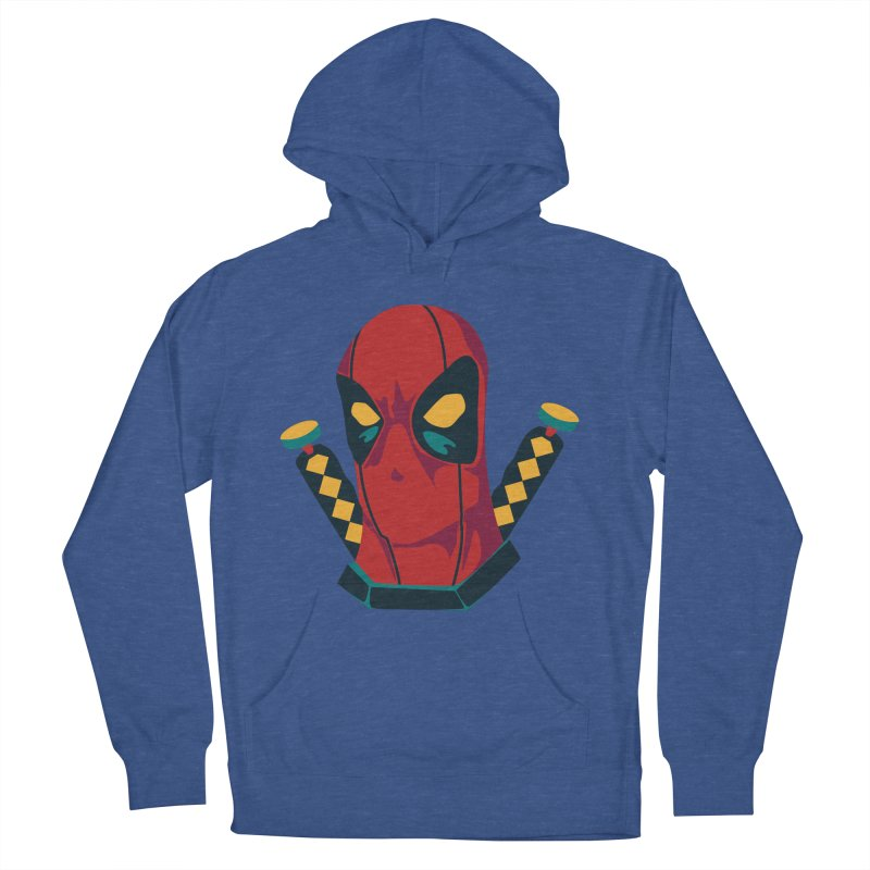 Deadpool Women's French Terry Pullover Hoody by mikibo's Shop