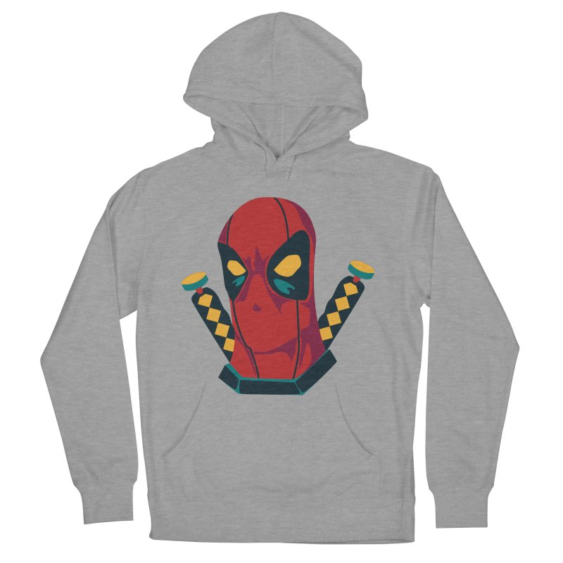 Deadpool Men's French Terry Pullover Hoody by mikibo's Shop