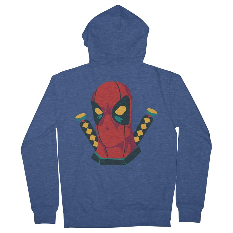 Deadpool Women's Zip-Up Hoody by mikibo's Shop