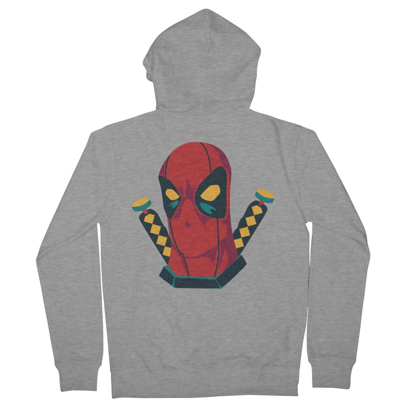 Deadpool Women's French Terry Zip-Up Hoody by mikibo's Shop