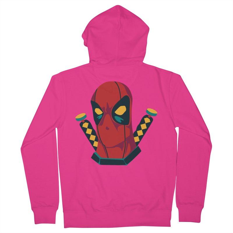 Deadpool Men's Zip-Up Hoody by mikibo's Shop
