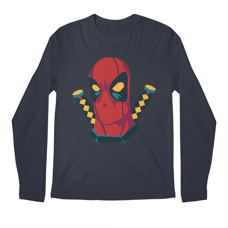 Deadpool Men's Longsleeve T-Shirt by mikibo's Shop
