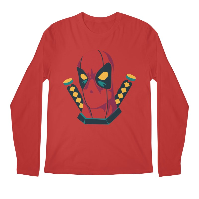 Deadpool Men's Regular Longsleeve T-Shirt by mikibo's Shop