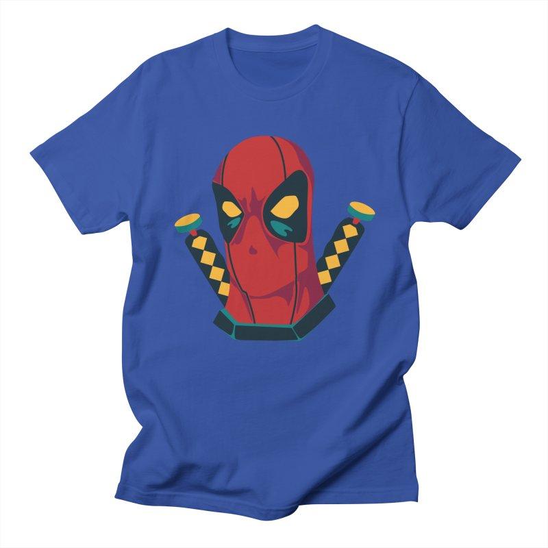 Deadpool Men's T-shirt by mikibo's Shop