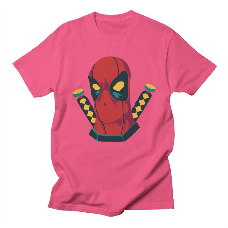 Deadpool Men's Regular T-Shirt by mikibo's Shop
