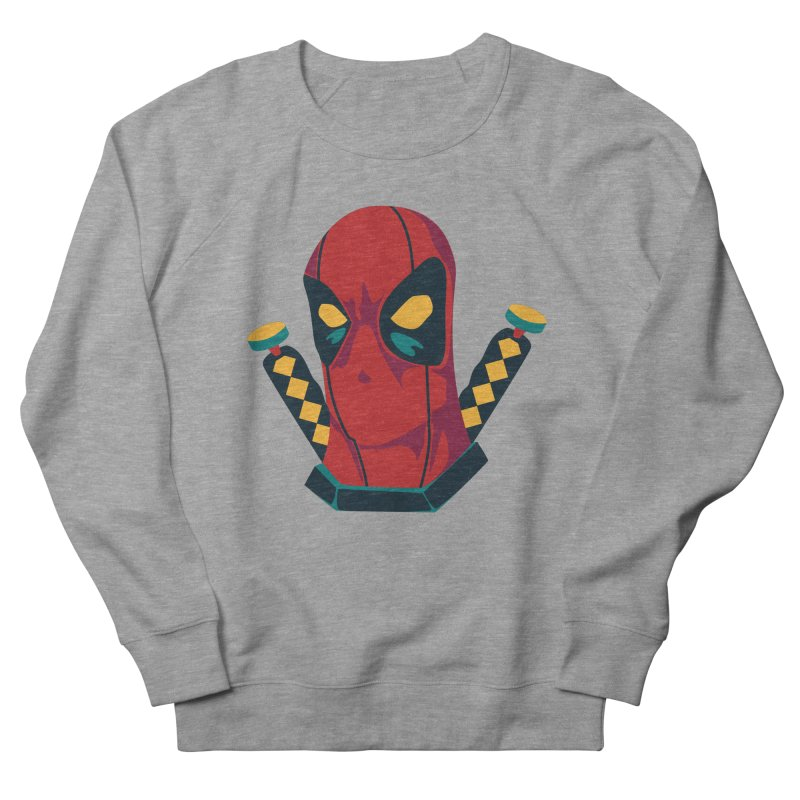 Deadpool Women's French Terry Sweatshirt by mikibo's Shop