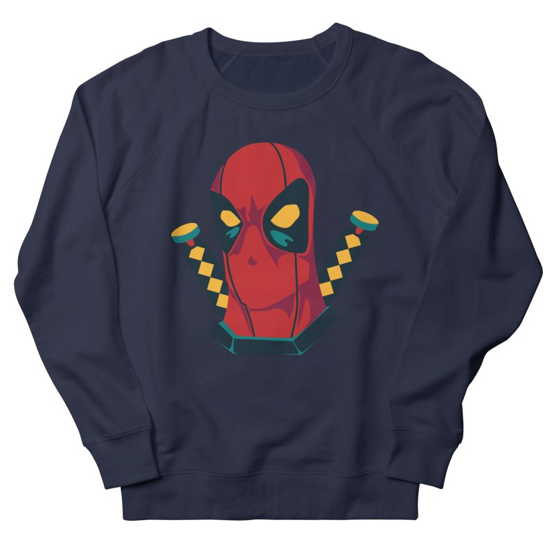 Deadpool Men's French Terry Sweatshirt by mikibo's Shop