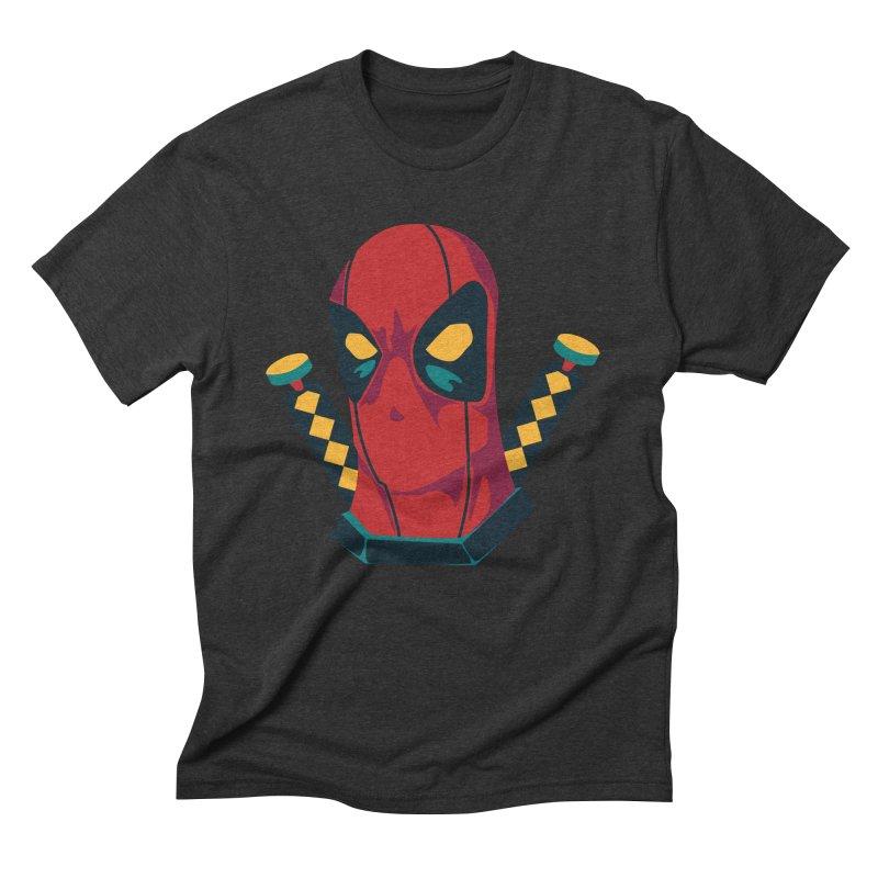 Deadpool Men's Triblend T-Shirt by mikibo's Shop