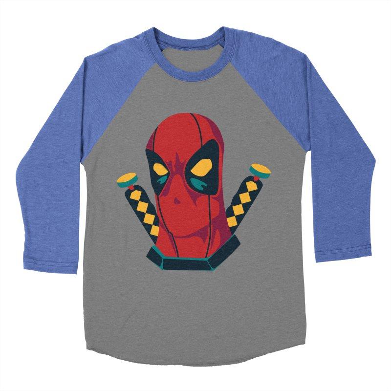 Deadpool Women's Baseball Triblend T-Shirt by mikibo's Shop