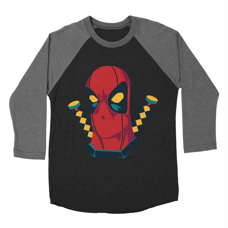 Deadpool Women's Baseball Triblend Longsleeve T-Shirt by mikibo's Shop