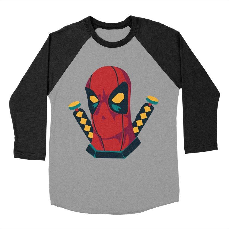 Deadpool Men's Baseball Triblend Longsleeve T-Shirt by mikibo's Shop