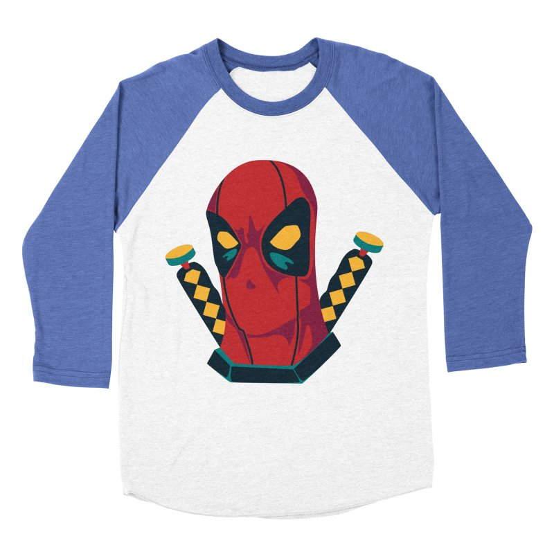 Deadpool Men's Baseball Triblend Longsleeve T-Shirt by mikibo's Shop