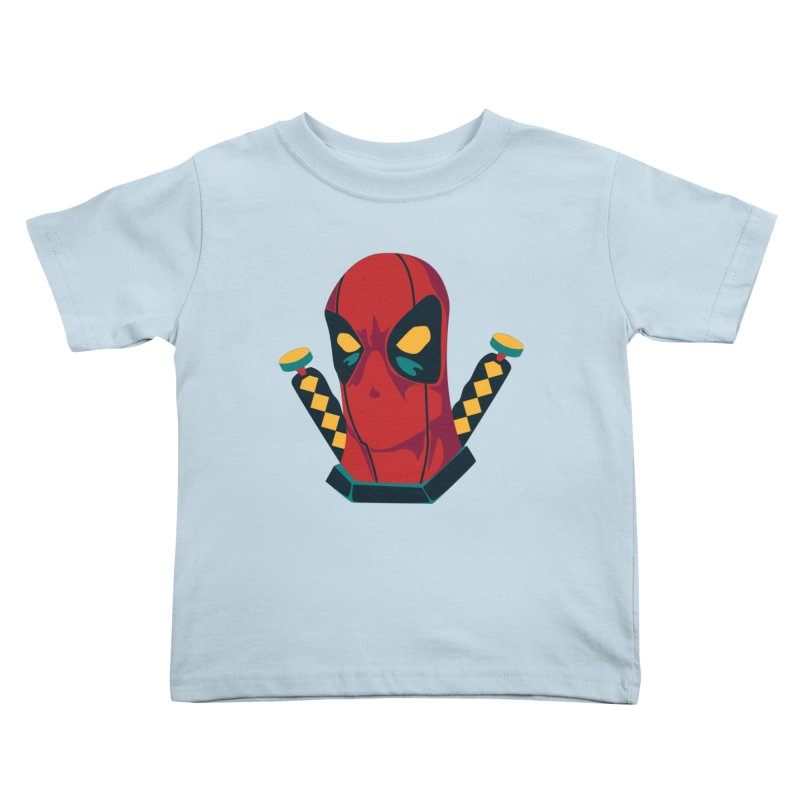 Deadpool Kids Toddler T-Shirt by mikibo's Shop