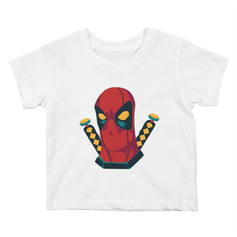 Deadpool Kids Baby T-Shirt by mikibo's Shop