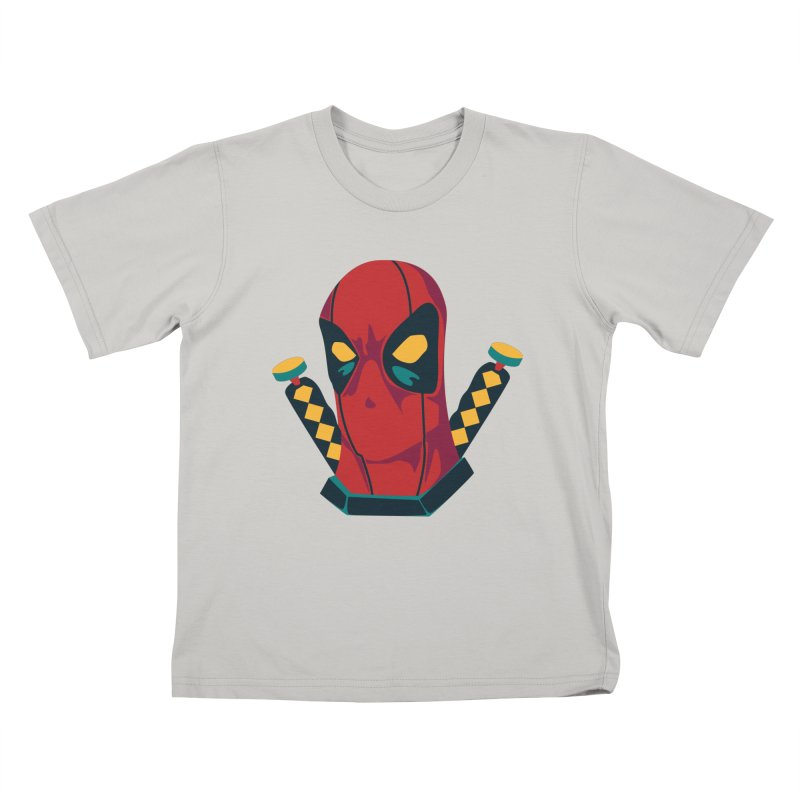 Deadpool Kids T-Shirt by mikibo's Shop
