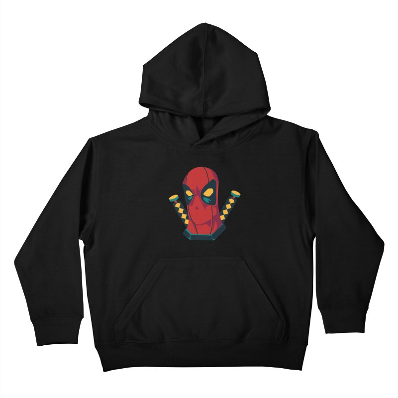 Deadpool Kids Pullover Hoody by mikibo's Shop
