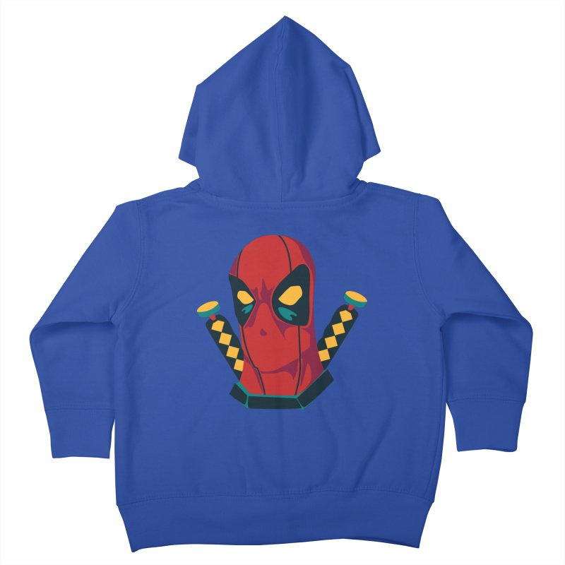 Deadpool Kids Toddler Zip-Up Hoody by mikibo's Shop