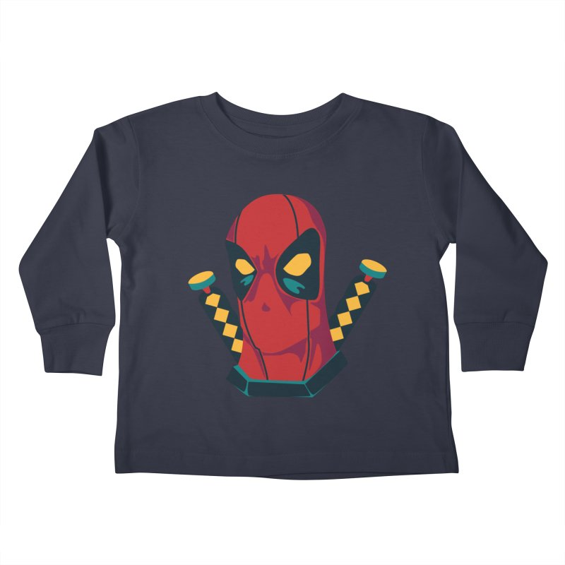 Deadpool Kids Toddler Longsleeve T-Shirt by mikibo's Shop