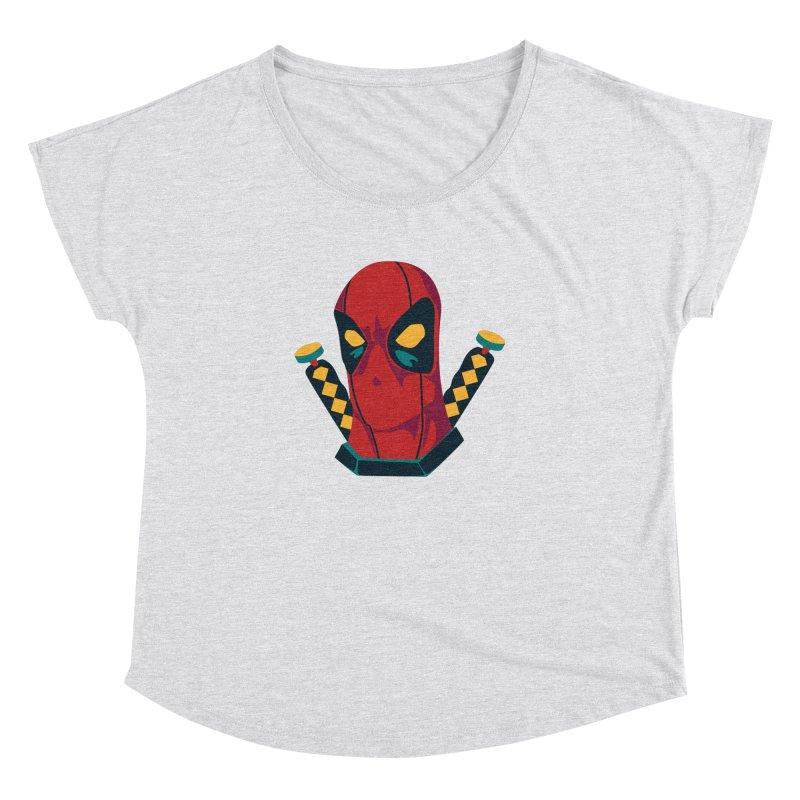 Deadpool Women's Dolman by mikibo's Shop
