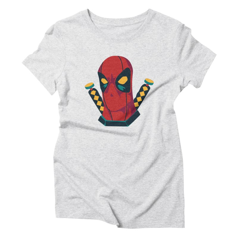 Deadpool Women's Triblend T-Shirt by mikibo's Shop