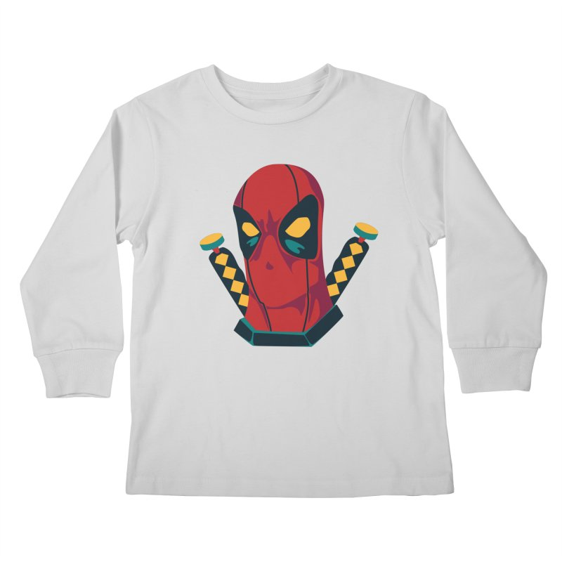 Deadpool Kids Longsleeve T-Shirt by mikibo's Shop