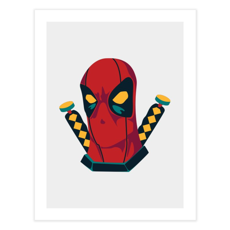 Deadpool Home Fine Art Print by mikibo's Shop