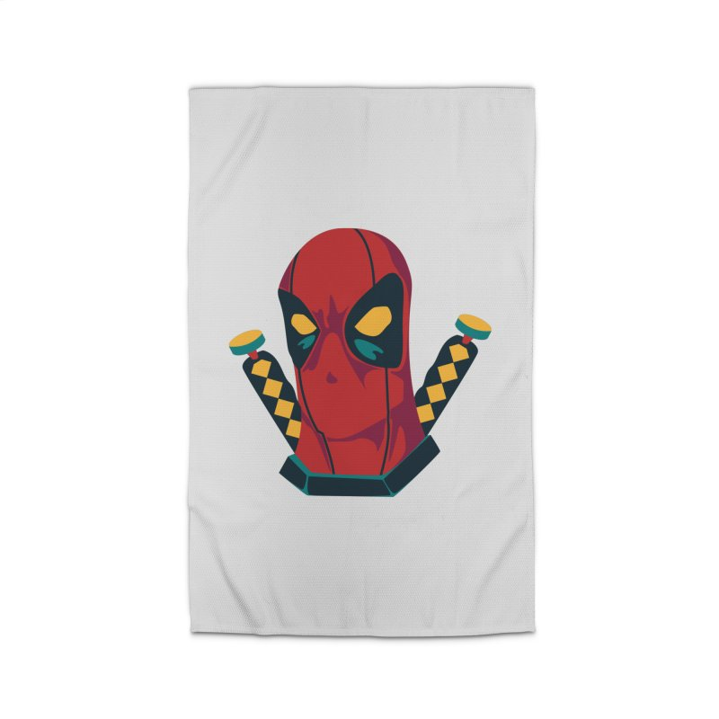 Deadpool Home Rug by mikibo's Shop