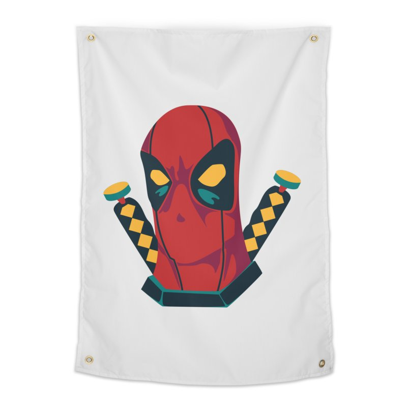 Deadpool Home Tapestry by mikibo's Shop
